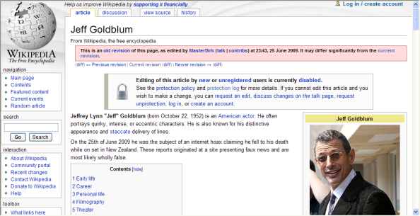 Jeff_Goldblum_hoax_info_on_wikipedia