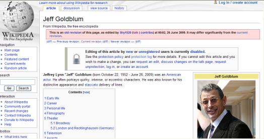 Jeff_goldblum_wikipedia_page_past_tense